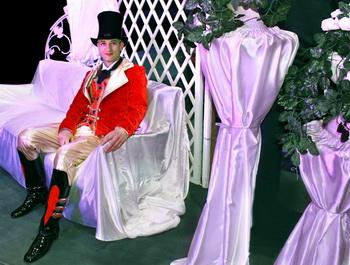 Сергей Анастасьев в роли директора цирка в оперетте «Мистер Х». Фото: Ирина Рудская/Великая Эпоха (The Epoch Times)