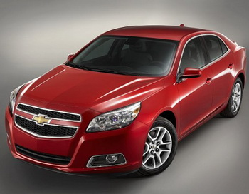 Chevrolet Malibu Eco 2013 модельного года. Фото: General Motors