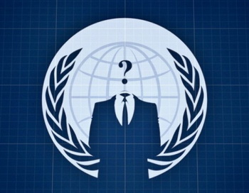 Логотип активистов организации Anonymous Operations. Фото предоставлено Anonymous Operations