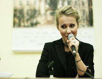 Ксения Собчак. Фото с сайта ksenia-sobchak.com