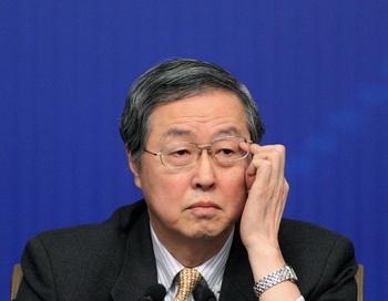Чжоу Сяочуань, глава Народного Банка Китая, на пресс-конференции по вопросам денежно-кредитной политики и финансам, 12 марта, Пекин. Фото: Feng Li/Getty Images