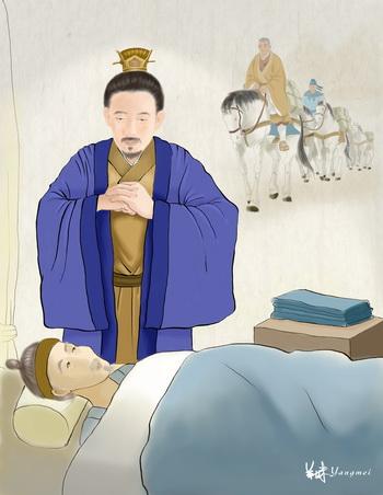 Император Мин, создатель золотого периода в Восточной Хань. Иллюстрация: СМ Ян/Великая Эпоха (The Epoch Times)