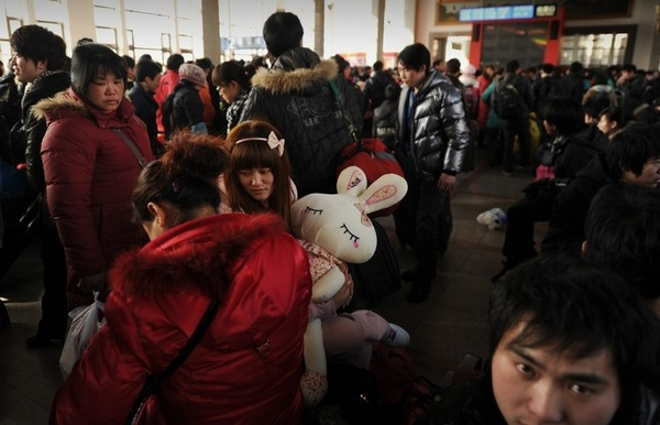 Китайский Новый год Кролика. Пекин. Фото: AFP PHOTO/Peter PARKS