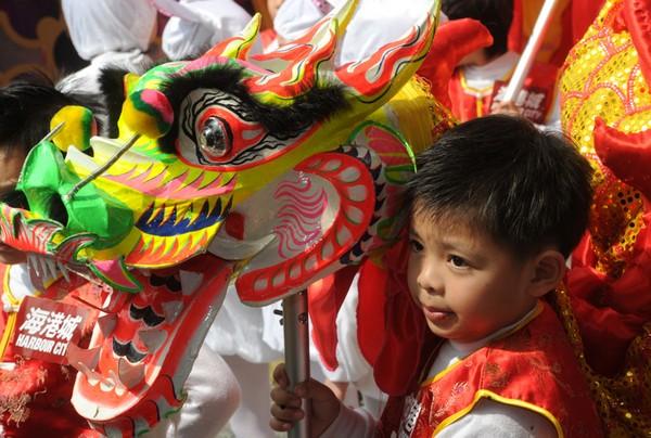 Китайский Новый год Кролика. Гонконг. Фото: AFP PHOTO / MIKE CLARKE