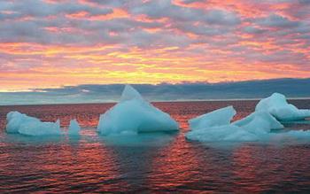 Китай претендует на Арктический лед. Фото:Русская Служба