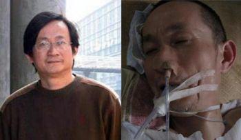 Ли Хун был здоров до того, как был взят под стражу полицией в 2007 году. В тюрьме он подвергался пыткам, но не получил условно-досрочного освобождения  до июня 2010 года, когда он был уже на грани смерти. Он умер в Нинбо в возрасте 52 года 31 декабря. Фото с сайта epochtimes.com