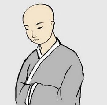 Монах. Фото: The Epoch Times