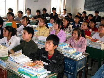 Система образования в Китае воспитывает людей без собственного мышления. Фото: AFP
