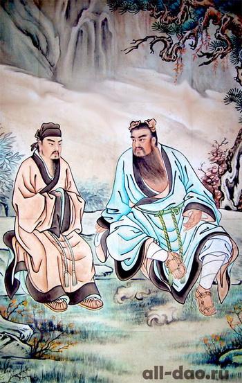 Люй Дунбинь и Чжунли Цюань. Фото с сайта all-dao.ru
