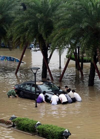 Пострадавшие от наводнений районы Китая. Фото с epochtimes.com