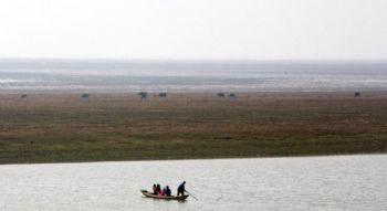 Этот «Бермудский треугольник» находится в северной части озера Поян в округе Дучан, провинции Цзянси. Фото с epochtimes. com