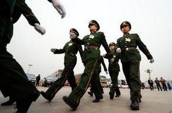 Накануне открытия Всемирных игр боевых искусств, в Пекине прошли зачистки «нестабильных элементов». Фото: FREDERIC J. BROWN/AFP/Getty Images
