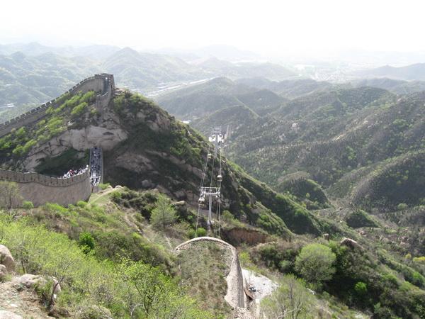 Великая китайская стена. Фото предоставлено автором.