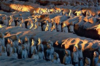 Терракотовая армия первого императора Китая. Фото: The Epoch Times