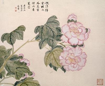 Китайская живопись. Цветы. Чжан Цуйин