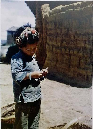 Маленькая жительница города Куньмин