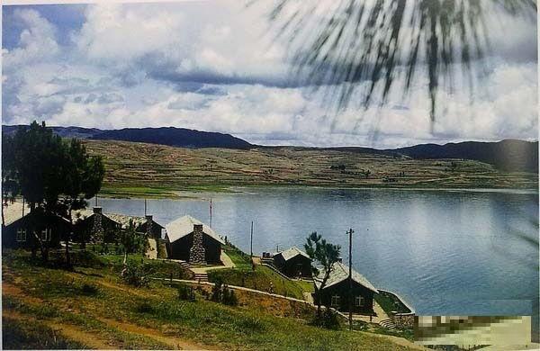 Место отдыха, построенное недалеко от Куньмина 14-м подразделением американских военно-воздушных сил