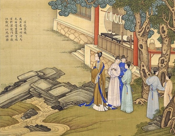 Императрица Мин Дэ Ма (династия Хань). Художник Цяо Бинчжэнь