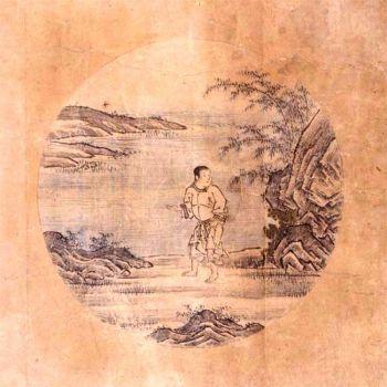 Шубун — это репродукция картины китайского художника 12 века Какуана, оригинал которой утерян. (Public domain image)