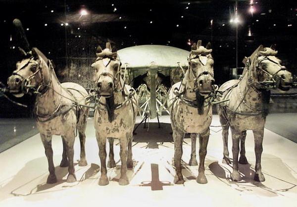 Терракотовая армия первого императора Китая. Фото: GOH CHAI HIN/Getty Images