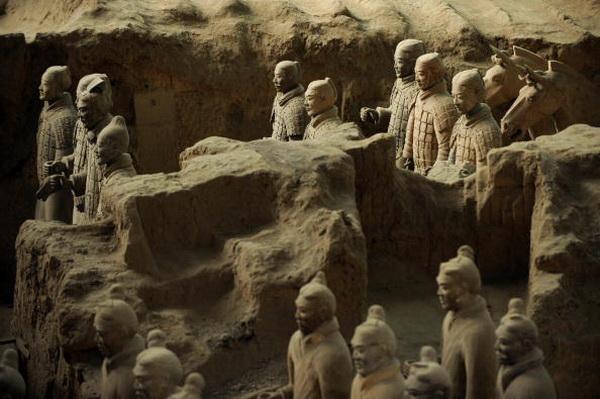 Терракотовая армия первого императора Китая. Фото: Getty Images