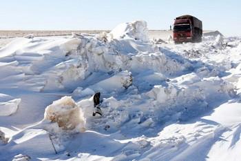 На севере Китая зафиксирована самая низкая температура за 69 лет. Фото с epochtimes.com