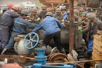 В Китае каждый день от аварий гибнет более 10 шахтёров. Фото: AFP