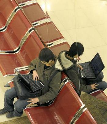Многие правительственные сайты КНР заражены программой-шпионом. Фото: LIU JIN/AFP/Getty Images