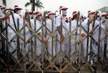Забастовка рабочих завода японской компании Honda в Китае. Город Фошань провинции Гуандун. Фото с epochtimes.com