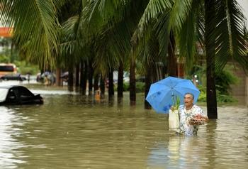 Остров Хайнань страдает от самых сильных наводнений за 50 лет. Фото с epochtimes.com
