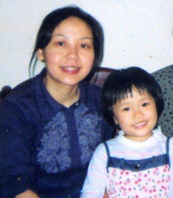 Цао Чжимин с дочерью. Фото с epochtimes.com