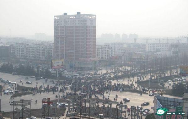 Фото с места событий. Город Пэйчжоу провинции Цзянсу. 7 января 2010 год. Фото с epochtimes.com