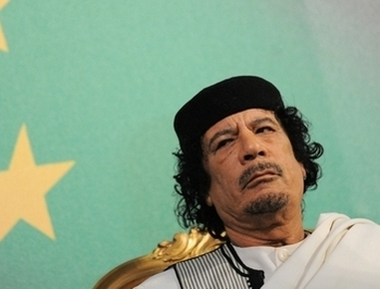 Муаммар Каддафи пригрозил повстанцам устроить «бойню на площади Тяньаньмэнь». Фото: ANDREAS SOLARO/AFP/Getty Images