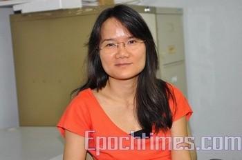 Представитель китайского отделения Международной федерации журналистов Ху Линьюнь. Фото: The Epoch Times