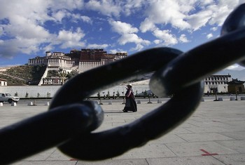 Ещё одного тибетца приговорили к сроку заключения по политическим причинам. Фото: China Photos/Getty Images