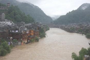 Ущерб от наводнений в Китае в 3,7 раза больше, чем в прошлом году. Фото с epochtimes.com