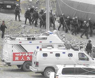 Власти компартии Китая по-прежнему жёстко контролируют тибетцев. Фото: RFA