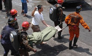 За пять месяцев в Китае погибло более тысячи шахтёров. Фото: AFP