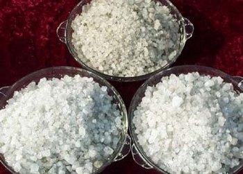 В Китае из промышленной соли делают пищевую