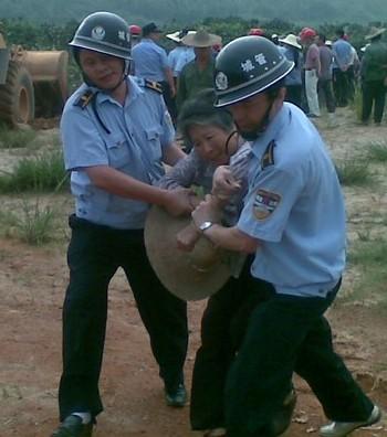 В Китае полиция похищает людей. Фото с epochtimes.com