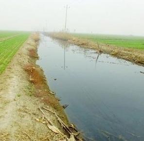 Арык, заполненный выбросами завода. Провинция Хэбэй. Фото с epochtimes.com