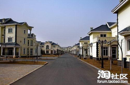 «Город-призрак» Ордос в районе Внутренняя Монголия. Фото с forum.taobao.com