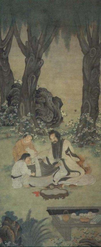 Культура самосовершенствования выработала у древних китайцев привычку сидеть на полу, поэтому вся мебель в те годы была низкой. Картина времён династии Мин. Фото с epochtimes.com