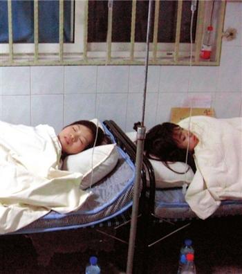 Две пострадавшие находятся в больнице №1 района Хуайжоу. Фото с epochtimes.com