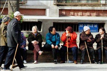 В Китае увеличивается число стариков и сокращается число работоспособного населения. Фото: Getty Images