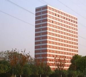 Построенный за шесть дней 15-этажный отель. Город Чанша провинции Хунань. Фото с epochtimes.com