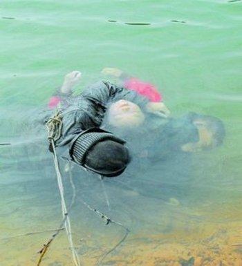 Мать утопилась вместе с тремя детьми. Провинция Хунань. Фото с epochtimes.com