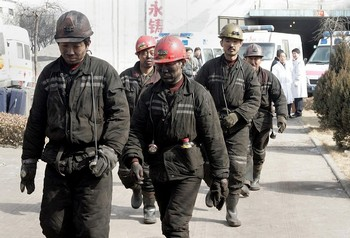 Китайские шахты считаются самыми опасными в мире. Фото: AFP