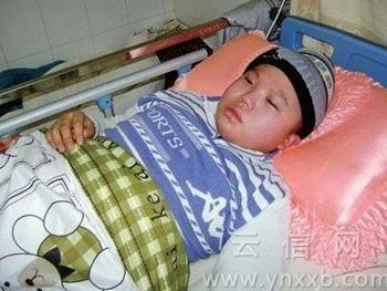 Половина больных белокровием детей в Китае – это дети. Фото с epochtimes.com