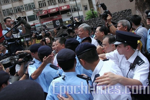 Фото с места событий. Гонконг. 29 мая 2010 год. Фото: The Epoch Times